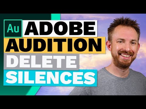 How to Delete Silences Automatically in Adobe Audition