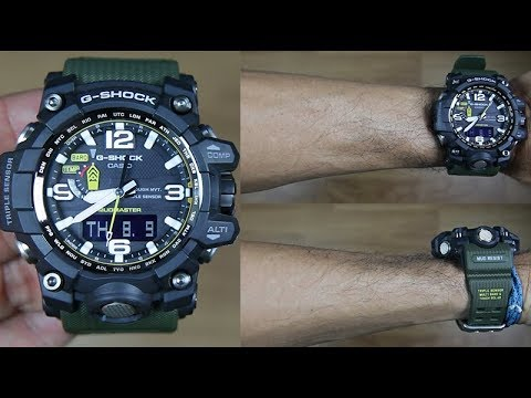227040462c2 CASIO G-SHOCK MUDMASTER GWG-1000-1A3 TRIPLE SENSOR- UNBOXING - YouTube