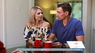 Alexa & Chris Scimeca Knierim Today Show Olympic Interview | LIVE 2-14-18