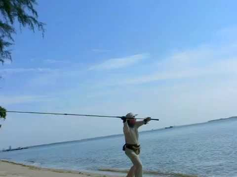 Casting daiwa surf X Interline - surf rod without guides !