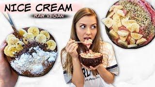 Najlepszy Przepis na ZDROWE LODY || Raw Vegan