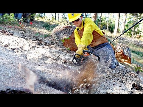 Amazing Chainsaw Trick