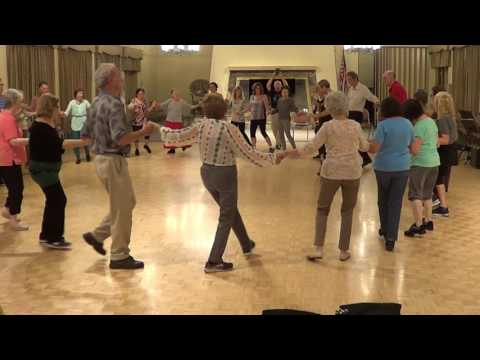 ELENO KERKO Macedonian Style Circle Dance Ira Weisburd 2016 Laguna Woods Folk Dance Workshop