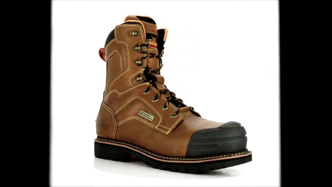 57a1a0ee3f8 Men's Thorogood 8 Inch Composite Toe Waterproof Work Boot 804-4285 @  Steel-Toe-Shoes.com
