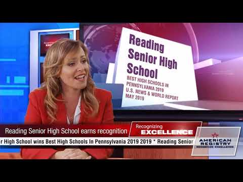 Reading Senior High School - Recognized for Excellence