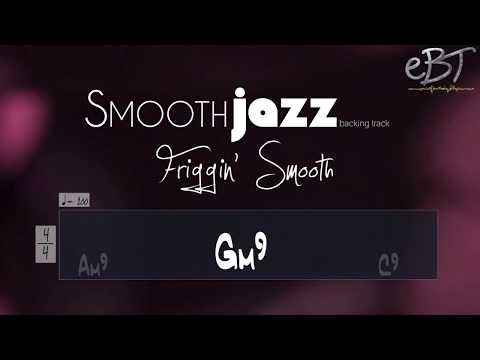 SMOOTH JAZZ BACKING TRACK IN F!