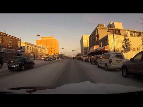 Yellowknife Nwt Canada - Jan 19, 2013 HD