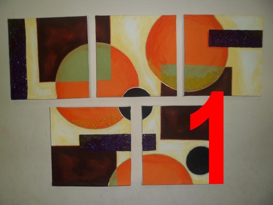 Cuadros hechos en casa  P42  13  YouTube