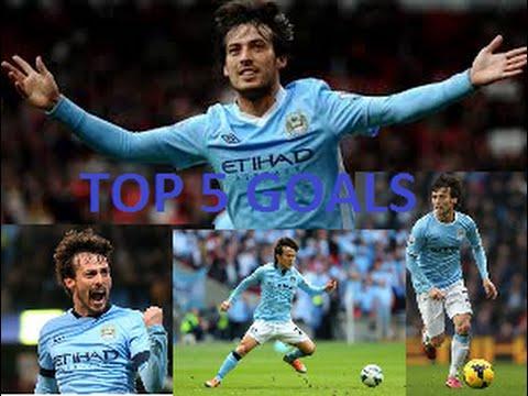 David Silva: Top 5 goals