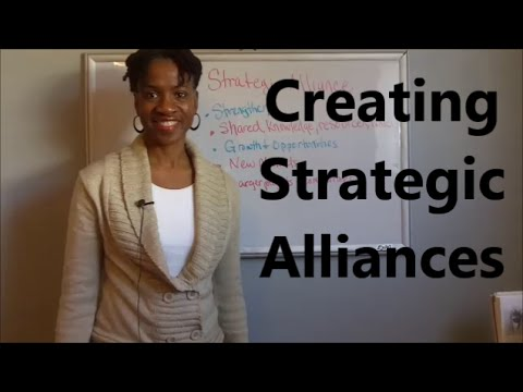 Creating Strategic Alliances| Effective Small Business Strat
