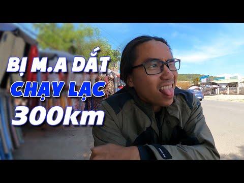 Lần Đầu Tiên Đi Phượt BỊ M.A DẮT HƠN 300KM Và CÁI KẾT - Xe Ôm Vlog