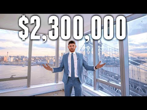 NYC Apartment Tour: $2.3 MILLION LUXURY APARTMENT