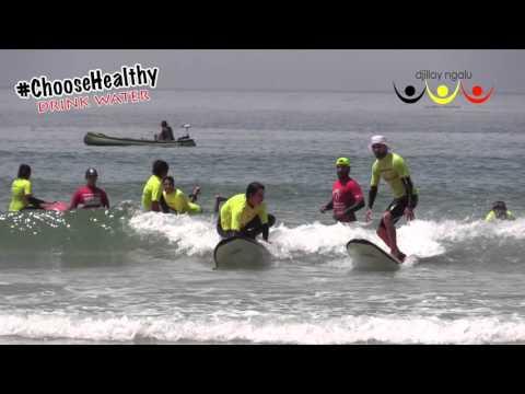 Surfing Cape Conran  -  Day 1