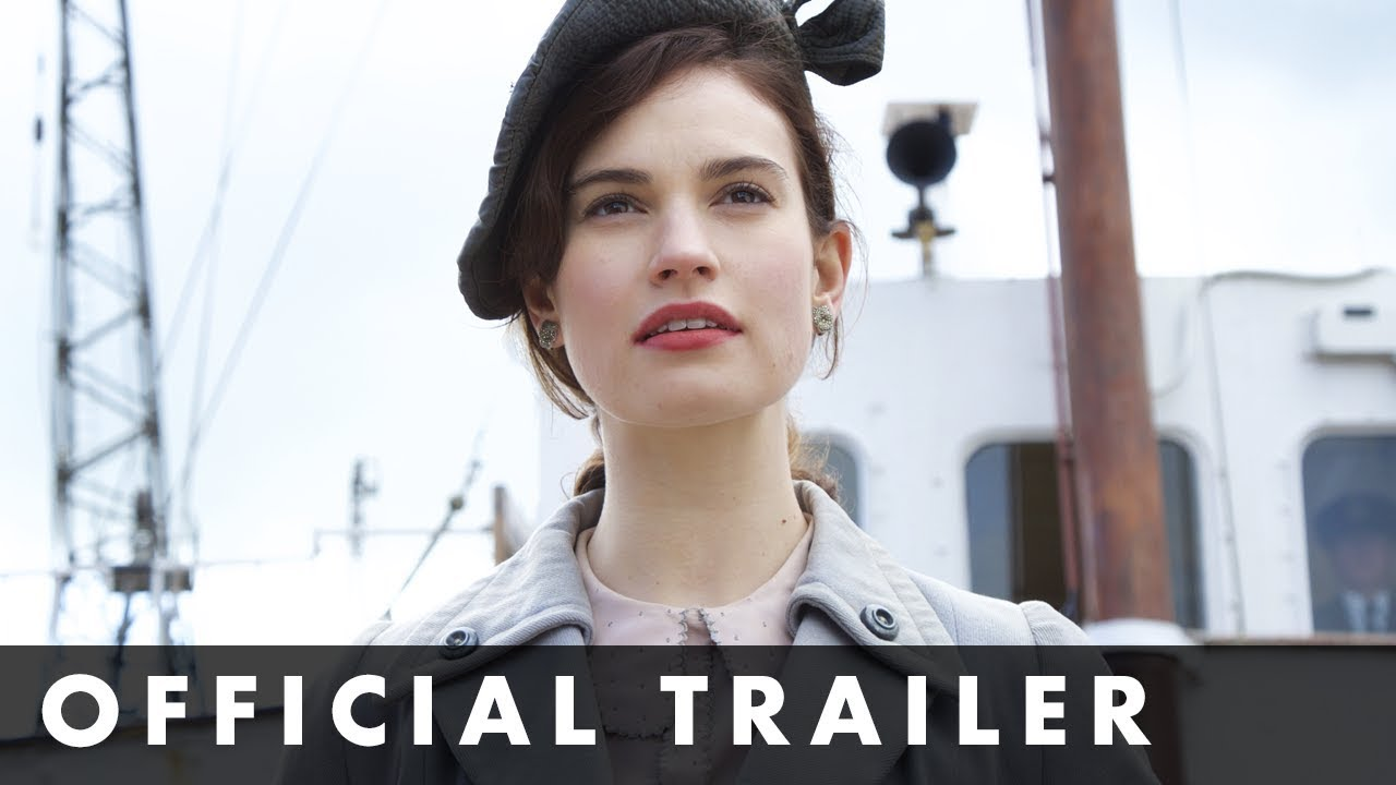 THE GUERNSEY LITERARY & POTATO PEEL PIE SOCIETY - Official Trailer - Starring Lily James