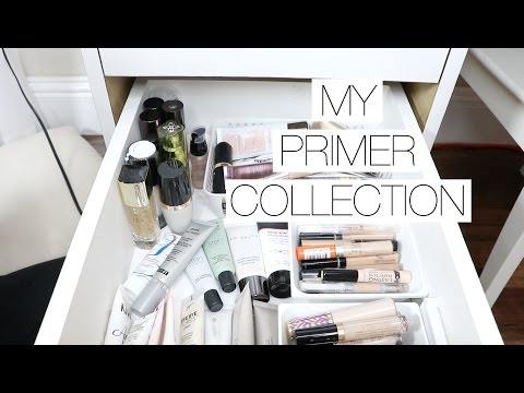 Makeup Collection + Storage | Face PRIMERS