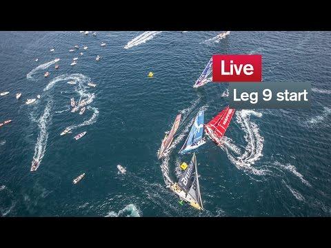 Live recording: Leg 9 Start - Lorient - Gothenburg