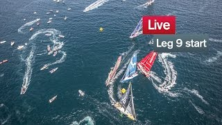 Live recording: Leg 9 Start - Lorient - Gothenburg