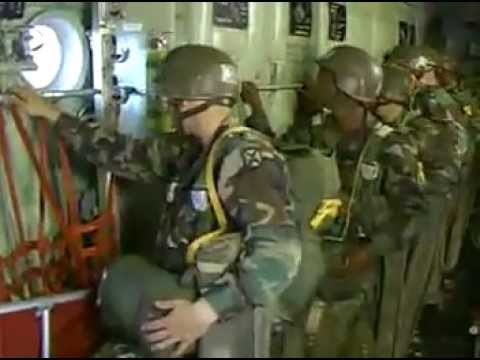 U S Army Airborne School 1990s Recruiting Video Youtube