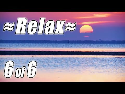 relaxing-nature-scenes-#6-soothing-sounds-of-nature-ocean-waves-sea-birds-beach-sunset-relaxation
