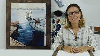Экспресс-урок по акварельной живописи «Причал»