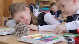 Пластилиновая графика: ёжик помогает проводить экологический урок (фрагмент занятия)