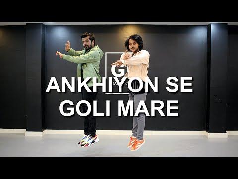 Ankhiyon Se Goli Mare  Dance Cover  Bollywood Dance  Deepak Tulsyan Choreography