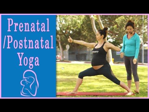 Prenatal Yoga 30 Minute Yoga Class