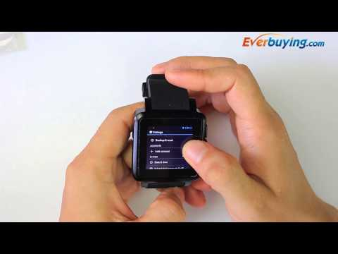 JERSA N8 Android 4.2 3G Intelligent Wristwatch Camera Bluetooth MP3 MP4