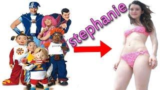 Lazy Town: la recordada Stephanie luce así a sus 24 años|2016 HD