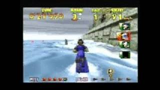 Wave Race 64 Nintendo 64 Gameplay - Wave Race 64 movie