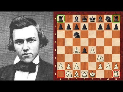 12 year old Paul Morphy plays with Queens Rook odds - in a chess nutshell