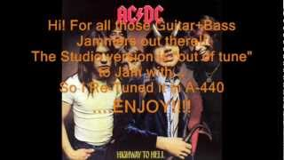 "AC/DC ""Get It Hot"": Retuned A-440 Version"