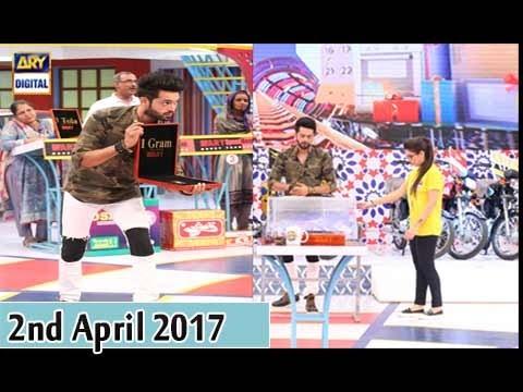 Jeeto Pakistan - 2nd April 2017 - ARY Digital Show
