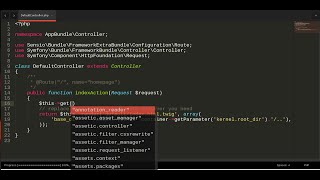 Padawan.php with Symfony2 plugin in Sublime Text 3