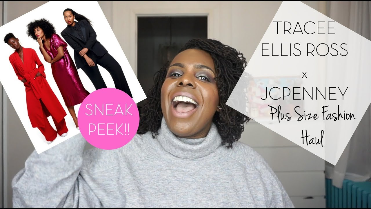 952a49fe903 JCPENNEY TRACEE ELLIS ROSS COLLECTION PLUS SIZE HAUL - YouTube