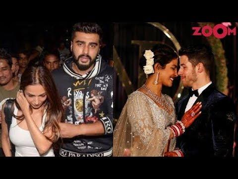 Arjun - Malaika go out on a dinner date | Priyanka - Nick arrive in Mumbai & more Mp3