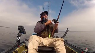 Kayak Fishing in Monterey Bay CA
