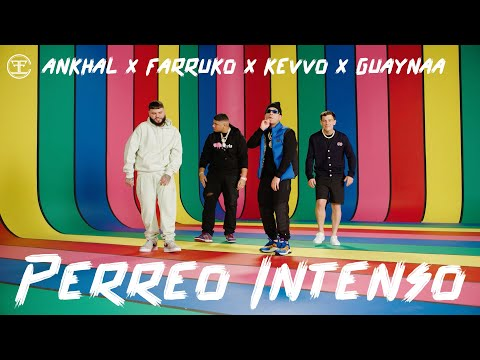 Farruko, Ankhal, Guaynaa & Kevvo - Perreo Intenso (Official Music Video)
