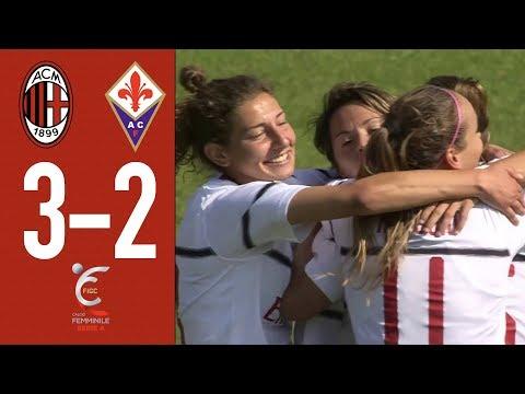 Highlights AC Milan 3-2 Fiorentina Women - Matchday 2 Women Serie A 2018/19