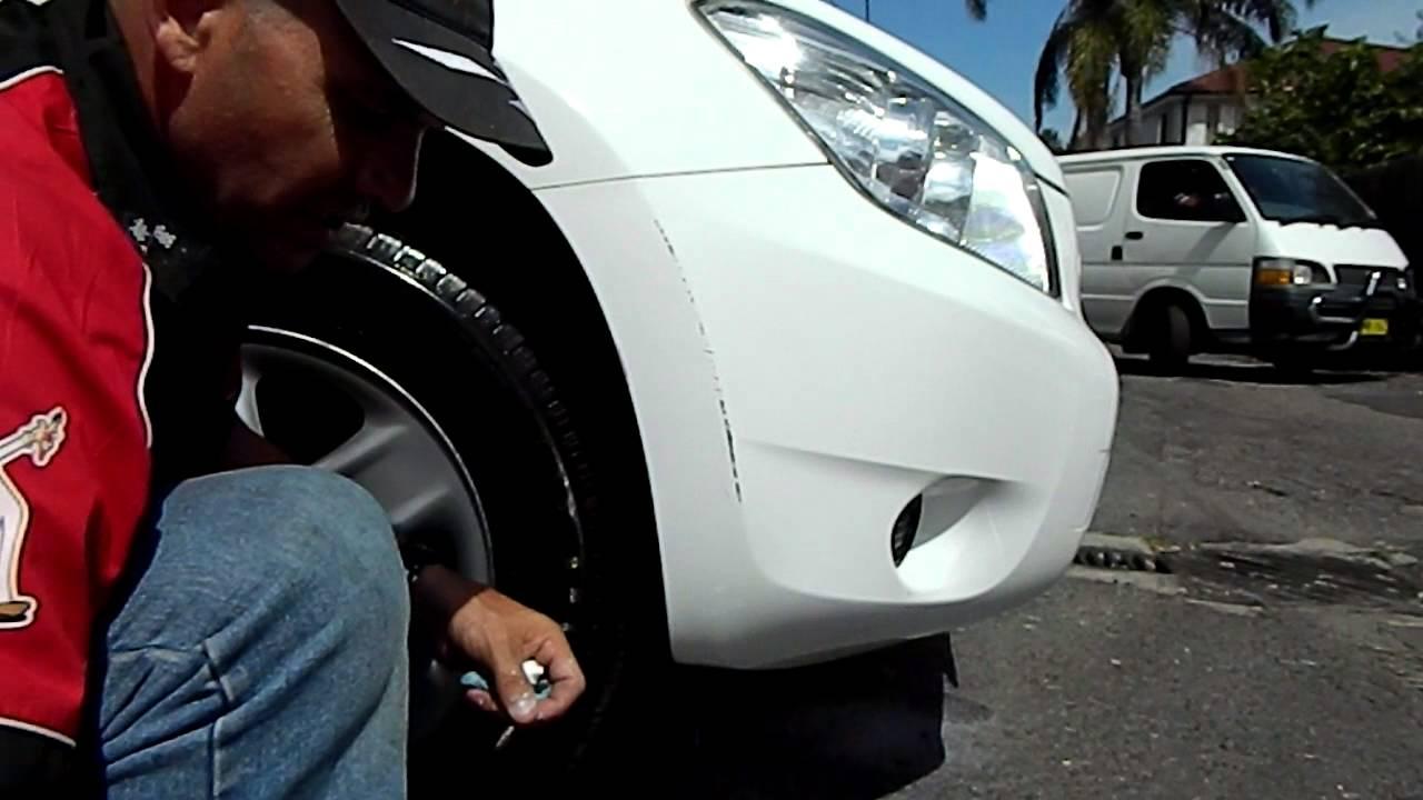 fixing paint scratches on car bumper  Part 2) www.touchuppaints.com.au Paint scratch Plastic Bumper repair ...
