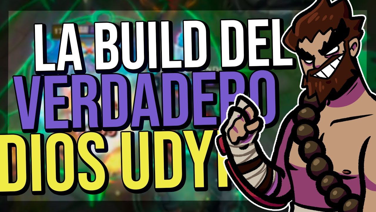 ¡LA BUILD PARA CONVERTIR A UDYR EN UN JUNGLA INDESTRUCTIBLE! - League of Legends