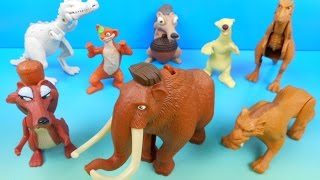 Video 2009 ICE AGE 3 DAWN OF THE DINOSAURS SET OF 8 McDONALD'S HAPPY MEAL MOVIE TOYS VIDEO REVIEW download MP3, 3GP, MP4, WEBM, AVI, FLV September 2017