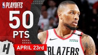 Damian Lillard Full Game Highlights | Portland Trail Blazers vs Oklahoma City Thunder - Game 5 | West First Round | April 23, 2019 NBA Playoffs ✓   Subscribe, ...