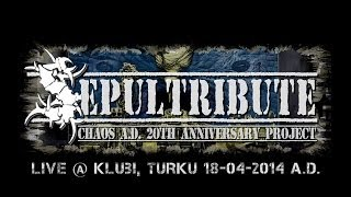 Sepultribute - Chaos A.D. 20th Anniversary Project - plays Sepultura