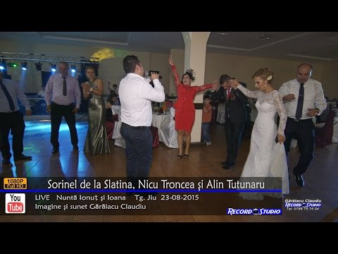 Sorinel de la Slatina si Nicu Troncea Colaj HORA part 3 LIVE Nunta Ionut & Ioana 23-08-2015