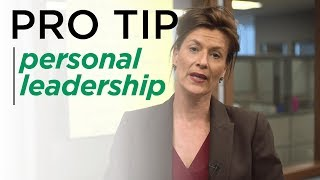 The Importance of Personal Leadership - BBB Pro Tips