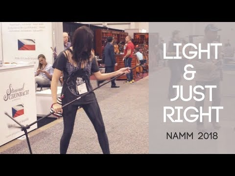 Peak Microphone Stands - Light & Just Right | NAMM 2018 | Peak Music Stands