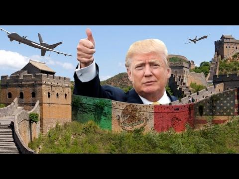 Trump-Wall - Die Umsetzung der Mauer um Mexiko - Doku 2017 (NEU *HD*)