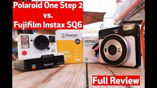 Fujifilm Instax SQ6 Vs. Polaroid One Step 2 VF | Real World Review