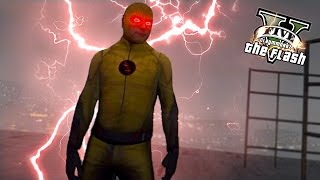 GTA 5 PC - The Reverse Flash ! A Mysterious Speedster ! (Ultimate Flash Mod Gameplay)🏃🏽⚡️